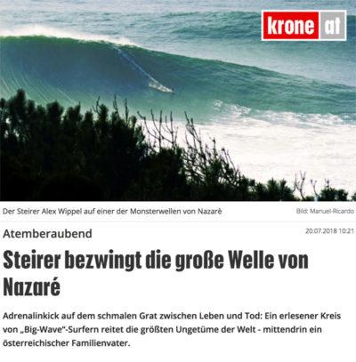 Artikel von Florian Gröger/Kronen Zeitung auf krone.at (stärkste Online-Zeitung Österreichs)